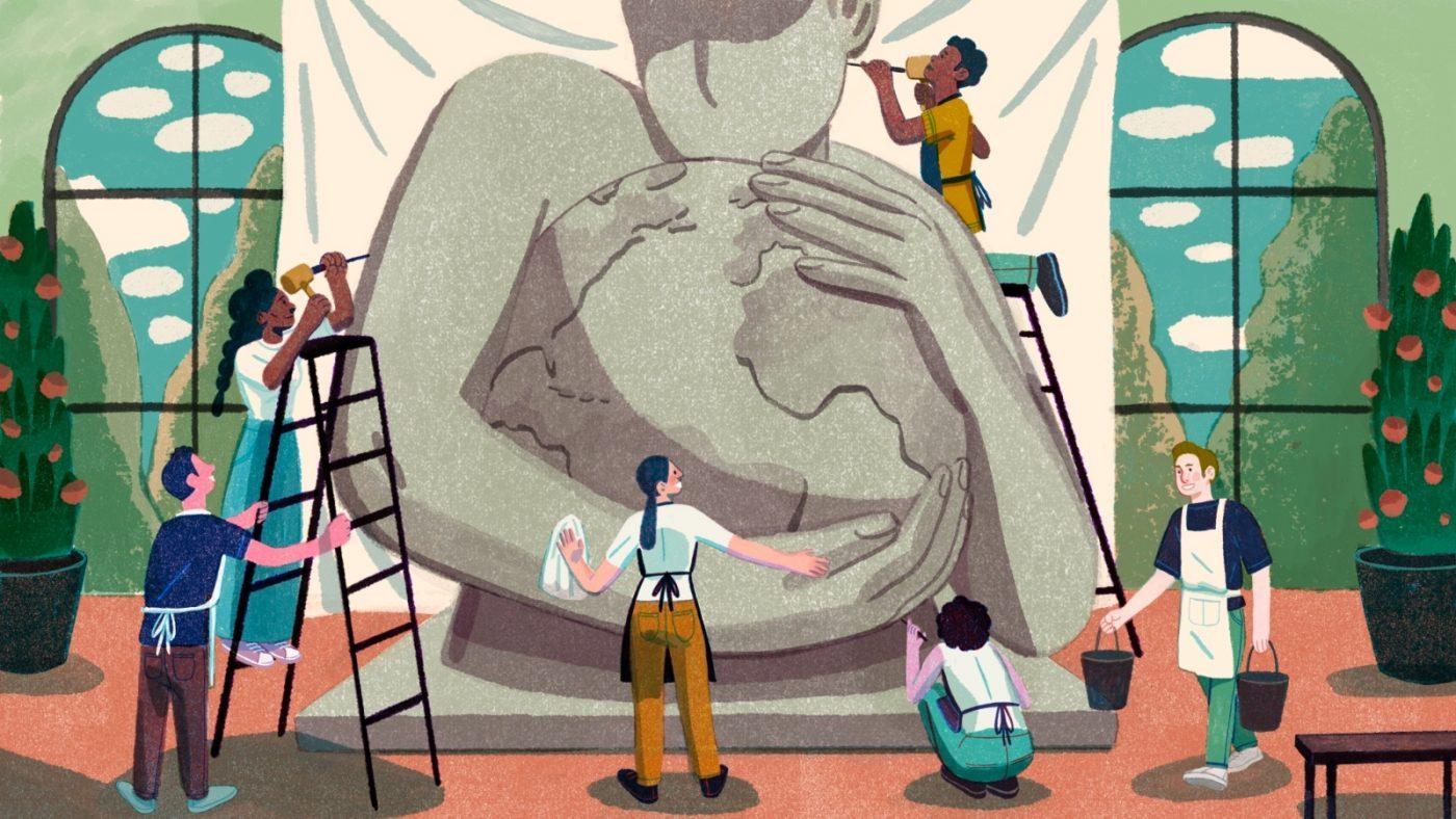 Feminist Climate Renaissance illustration