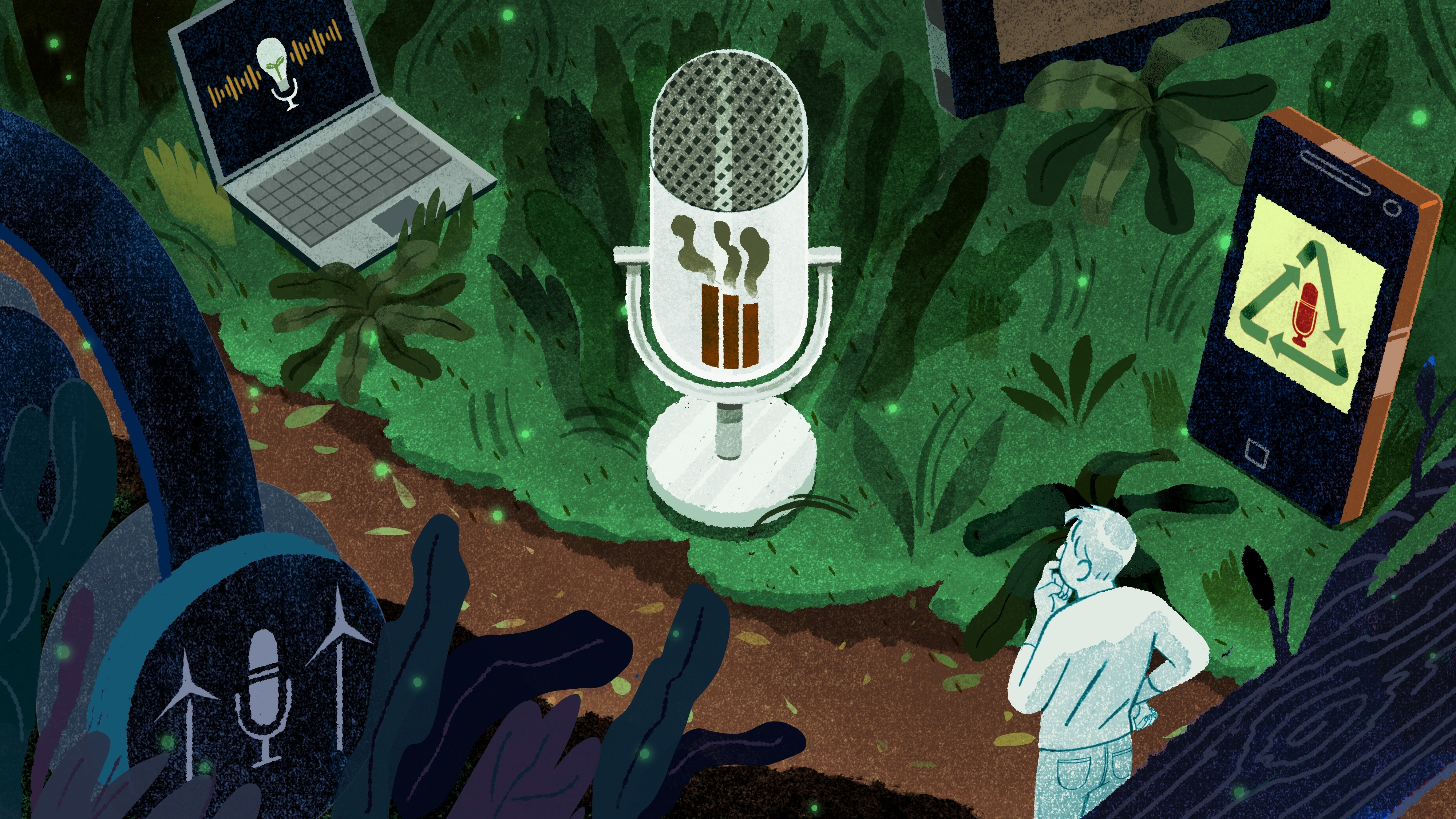 Climate podcasts