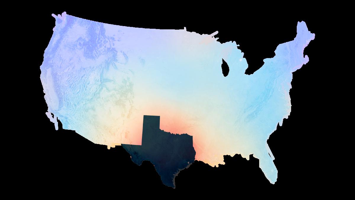 U.S. electric grid map