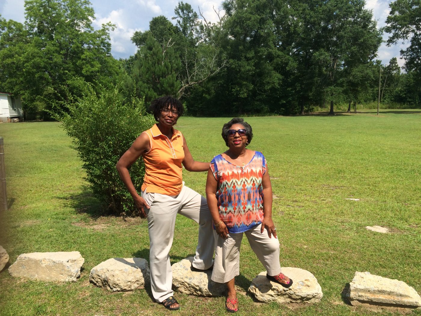 Eleanor Cooper Brown and Yvonne Cooper Knight-Carter