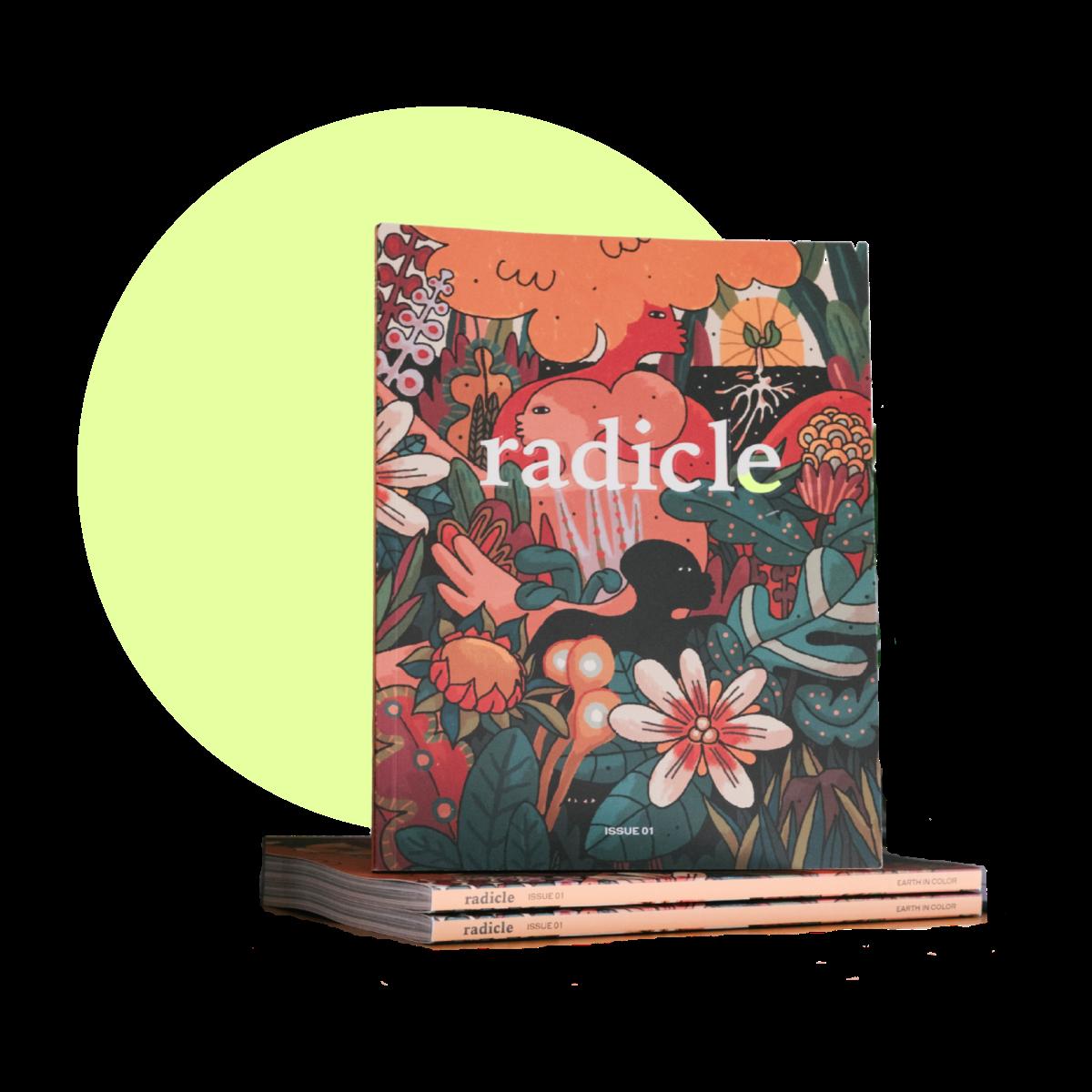 Radicle Magazine cover