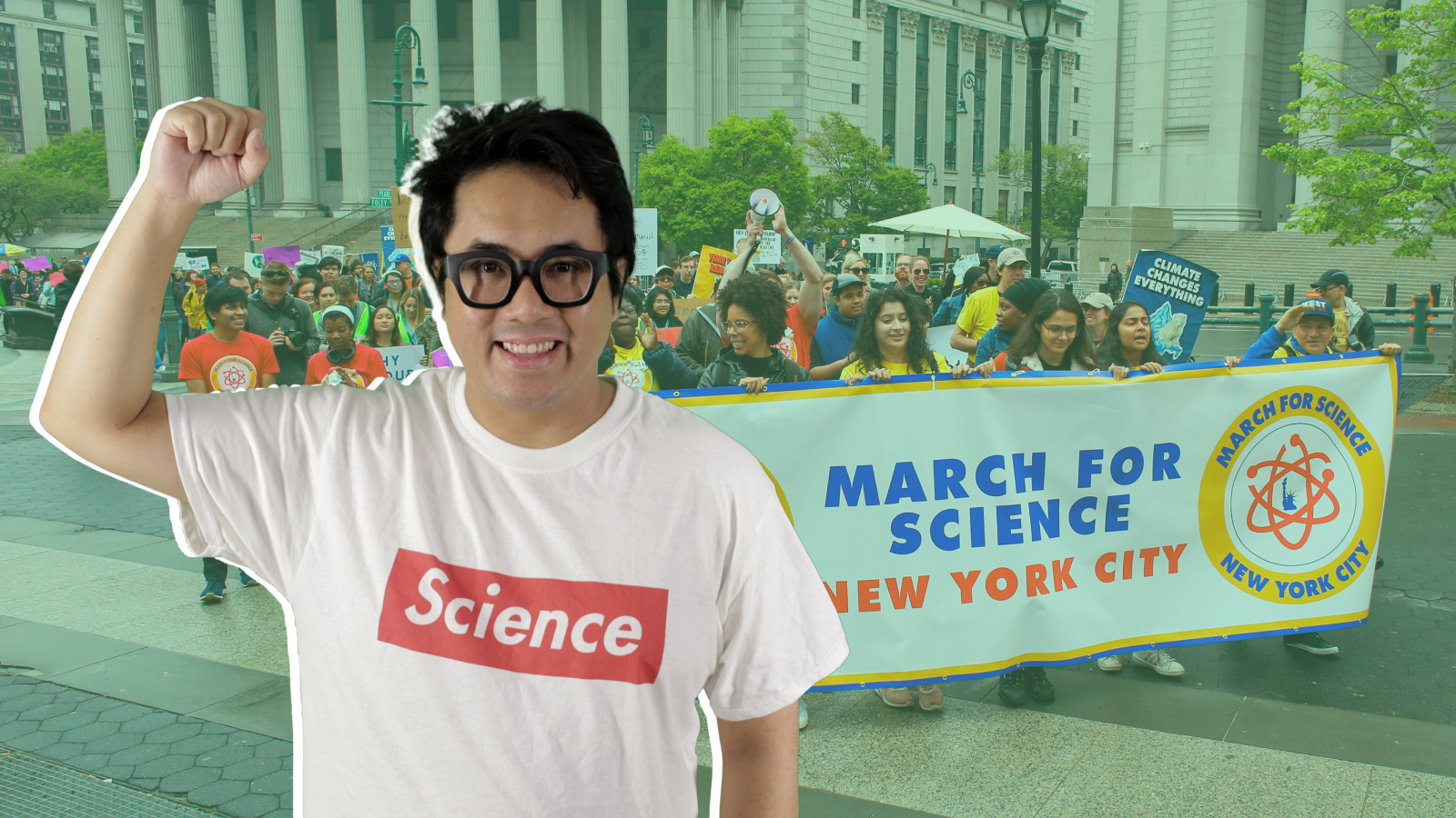 Lucky Tran, March for Science