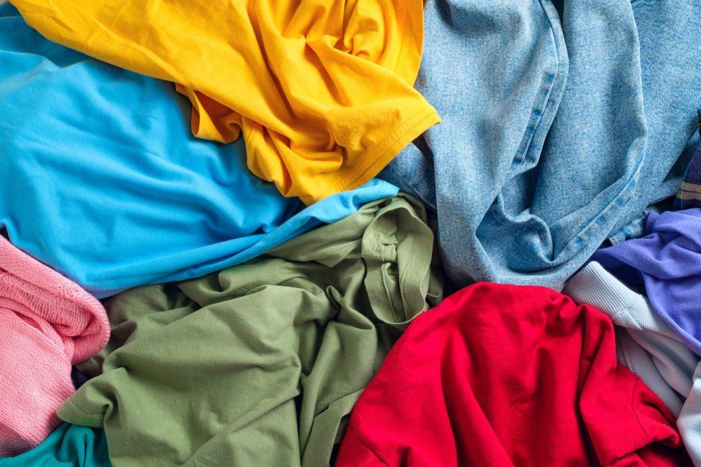Jumble of clothing