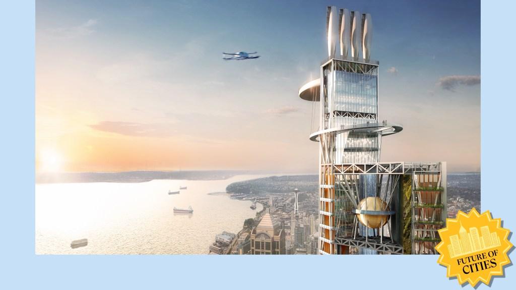 Skyscraper of the future