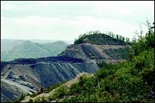 What's left of Kayford Mountain, W.Va.