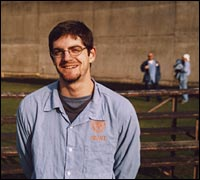 "Jeff ""Free"" Luers, Oregon State Penitentiary, 2005."