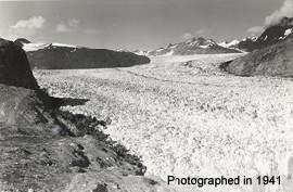 Muir glacier 1941