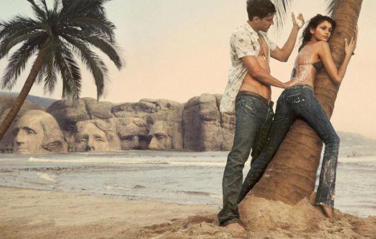 Diesel jeans ad