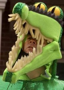 Vilsack as crocodile