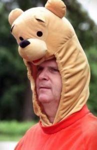 Vilsack as Winnie the Pooh