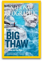 National Geographic cover: The Big Thaw