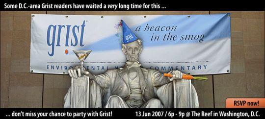 Grist D.C. reader party