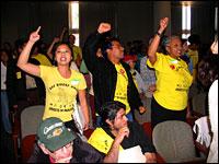 Bus Riders Union rally