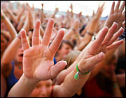 If you are under 30 raise your hand. Photo: iStockphoto