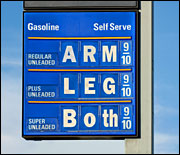 Expensive gas ... good or bad?
