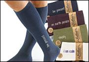 Maggie's Mantra socks