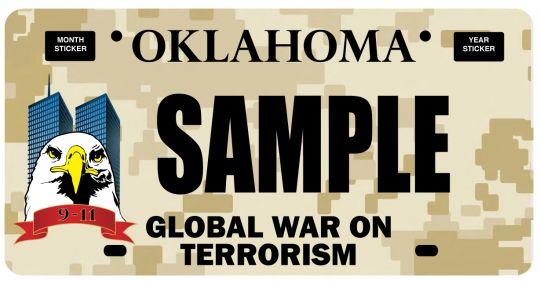 terror license plate