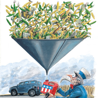Rolling Stone on ethanol