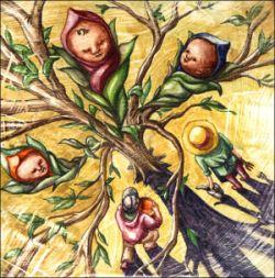 Baby tree.