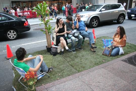 Park(ing) at MOMA