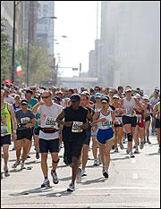 Chicago marathon. Photo: sterno74 via flickr