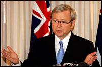 Kevin Rudd. Photo: AP/Rob Griffith
