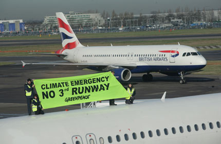 Heathrow protest