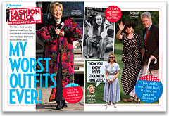 Hillary Clinton's worst outfits, Us Weekly