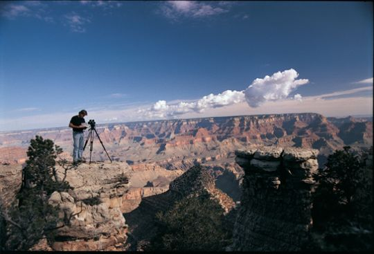 still from Grand Canyon film