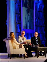 Jeffrey Immelt, Kimberly Strassel and Alan Murray