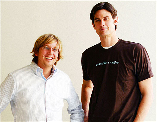 Eric Ryan and Adam Lowry