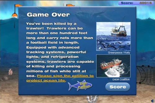 ocean survivor game