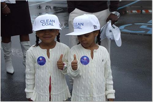 little black girls in clean coal hats