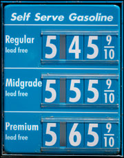 $5 gas ahead?