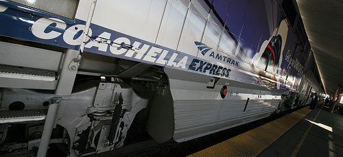 Coachella Express train