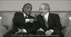 We campaign: Al Sharpton and Pat Robertson