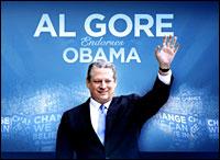 Gore endorses Obama