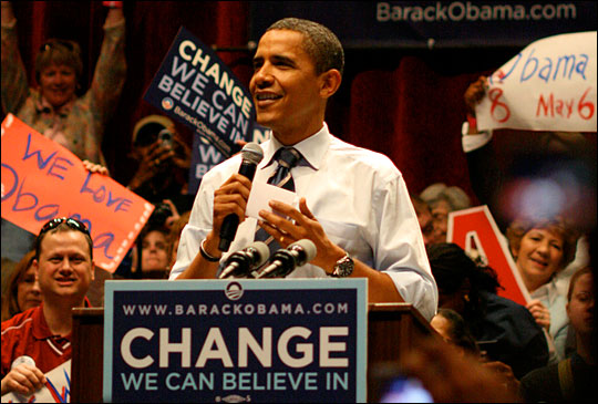Barack Obama. Photo: wfiupublicradio via Flickr