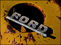 Ford relic. Photo: deansouglass via Flickr