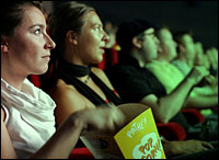 Movie watchers. Photo: rpb1001 via Flickr