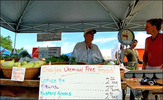 Chemical free farmer. Photo: iLoveButter via Flickr