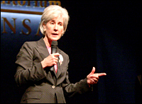 Kathleen Sebelius. Photo: Mindy Ricketts