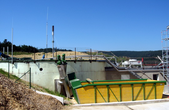 biomass: digester