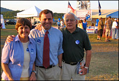 Democratic congressional candidate Tom Perriello with his parents
