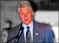 Bill Clinton. Photo: Brent Danley via Flickr