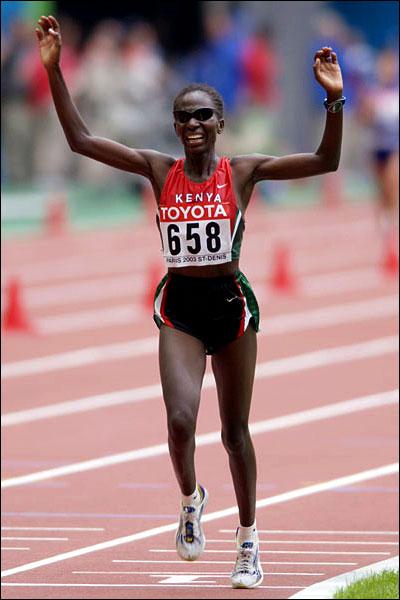 Catherine Ndereba. Photo: Kirby Lee/WireImage
