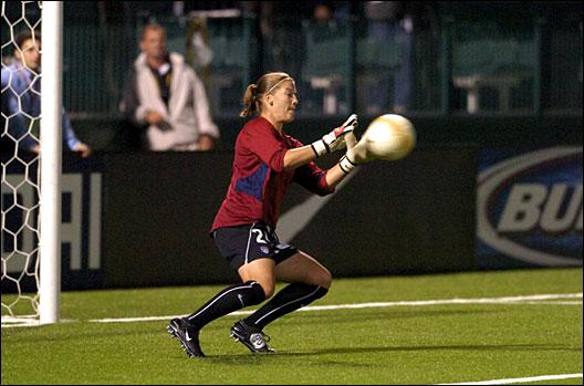 Nicole Barnhart. Photo: Mark Konezny/WireImage.com