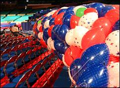 Convention balloons. Photo: Vidiot via Flickr