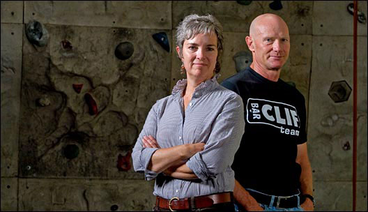 Kit Crawford and Gary Erickson, owners of Clif Bar