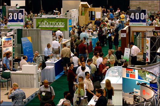 Green Summit expo floor